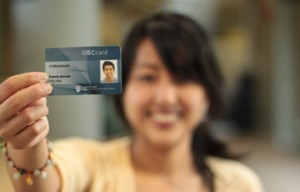 a person using some one else's UBC ID Card