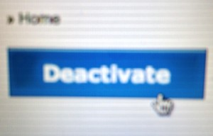 deactivate button