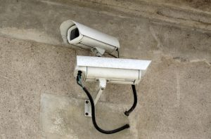 a photo of security camera